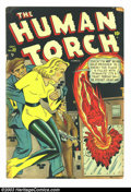 Golden Age (1938-1955):Superhero, The Human Torch #32 (Timely, 1948) Condition: GD/VG. Sun Girl cover. Tape on cover; small piece off cover. Overstreet 2003 G...