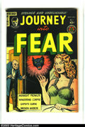 Golden Age (1938-1955):Horror, Journey Into Fear #3 (Superior, 1951) Condition: FN+. Kamenishheadlight artwork. Overstreet 2003 FN 6.0 value = $120.Fro...