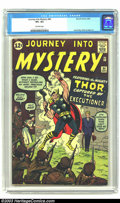 Silver Age (1956-1969):Superhero, Journey into Mystery #84 (Marvel, 1962) CGC VF+ 8.5 Off-white pages. Second appearance of Thor by Jack Kirby. Overstreet 200...