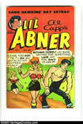 Golden Age (1938-1955):Humor, Li'l Abner Group (Toby Press, 1951-55). This lot consists of issues #80 (FN+); 81 (VF-); 84 (VG+); 85 (FN+); 86 (VF); 87 (VG... (Total: 16 Comic Books Item)