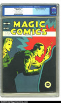 Golden Age (1938-1955):Adventure, Magic Comics #12 Mile High pedigree (David McKay Publications, 1940).CGC FN/VF 7.0 Off-white to white pages. Overstreet 2002...