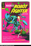 Bronze Age (1970-1979):Superhero, Magnus Robot Fighter #31 Double Cover (Gold Key, 1972) Condition: FN/VF Both covers. Russ Manning art. Overstreet 2003 FN 6....