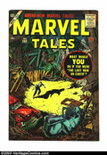 Silver Age (1956-1969):Horror, Marvel Tales #153 (Marvel, 1956) Condition: VF. Bill Everett end ofthe world cover and story. Overstreet 2003 VF 8.0 value ...