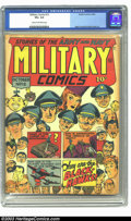 Golden Age (1938-1955):War, Military Comics #12 (Quality, 1942) CGC VG+ 4.5 Cream to off-whitepages. Reed Crandall and Bob Powell art. Overstreet 2003 ...