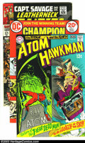 Silver Age (1956-1969):Miscellaneous, Miscellaneous Comics Group (Various, 1964-76). Atom and Hawkman #41 (VG/FN), Captain Marvel #12 (VF+), Capt. Savag... (Total: 14 Comic Books Item)