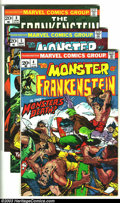 Bronze Age (1970-1979):Horror, The Monster of Frankenstein Group (Marvel, 1973-74) Condition:Average NM-. This lot consists of issues #4, 5, and 8. Issues...(Total: 3 Comic Books Item)