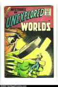 Silver Age (1956-1969):Horror, Mysteries of Unexplored Worlds #3 (Charlton, 1957) Condition:VG/FN. Steve Ditko cover and four, count 'em, four stories! Ov...