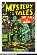 Golden Age (1938-1955):Horror, Mystery Tales #24 (Atlas, 1954) Condition: VF. This book came outat the tail end of the pre-Code era. Overstreet 2003 VF 8....