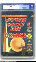 Golden Age (1938-1955):Superhero, New York World's Fair Comics #nn (DC, 1939) CGC VG+ Cream to off-white pages. If this is not a key issue, we don't know what...