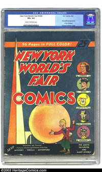 New York World's Fair Comics #nn (DC, 1939) CGC VG+ Cream to off-white pages. If this is not a key issue, we don't know...