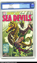 Silver Age (1956-1969):Adventure, Showcase #29 (DC, 1960) CGC VF- 7.5 Cream to off-white pages. This early appearance of the Sea Devils features another amazi...
