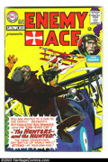Silver Age (1956-1969):War, Showcase #58 Enemy Ace (DC, 1965). Joe Kubert cover/story art; fifth appearance of Enemy Ace. Bottom staple popped. Overstre...