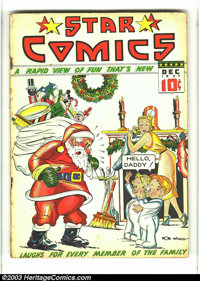 Star Comics #8 (Centaur, 1937) Condition: GD/VG. Severed head centerspread by Fred Guardineer; Little Nemo appearance. C...
