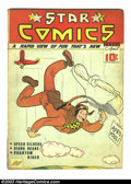 Golden Age (1938-1955):Miscellaneous, Star Comics V2 #3 (Centaur, 1939) Condition: GD/VG. Gill Fox cover; Tarpe Mills art. Overstreet 2003 GD 2.0 value = $50; VG ...