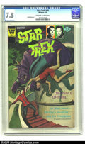 Bronze Age (1970-1979):Science Fiction, Star Trek #40 (Whitman, 1976) CGC VF- 7.5 Off-white to white pages. Whitman variant. Overstreet 2003 VF 8.0 value = $30. ...