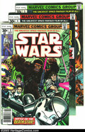 Bronze Age (1970-1979):Science Fiction, Star Wars Group (Marvel, 1977-78) Condition: VF/NM. This lot consists of issues #3-6, and 8-10. Overstreet 2003 value for gr... (Total: 7 Comic Books Item)