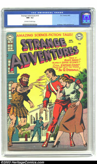 Strange Adventures #19 (DC, 1952) CGC NM- 9.2 Off-white to white pages. Starring Captain Comet. Murphy Anderson, Alex To...