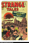 Silver Age (1956-1969):Horror, Strange Tales #97 (Marvel, 1962) Condition: FR/GD. First appearanceof Aunt May and Uncle Ben, before Amazing Fantasy #1...
