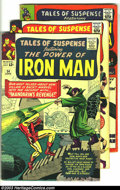 Silver Age (1956-1969):Science Fiction, Tales of Suspense Group (Marvel, 1964-67) Condition: Average VG. This lot consists of issues #54, 57, 63, 84, and 93. Featur... (Total: 5 Comic Books Item)