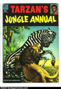 Golden Age (1938-1955):Adventure, Tarzan's Jungle Annual Group (Dell, 1953-54). This lot consists of two comic books, issues #2 (VF-) and 3 (VF-). Brown edges... (Total: 2 Comic Books Item)