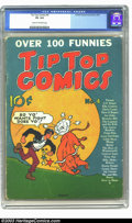 Golden Age (1938-1955):Miscellaneous, Tip Top Comics #4 (United Features Syndicate, 1936) CGC VG 4.0 Cream to off-white pages. Highest graded copy. Overstreet 200...