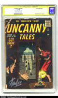 Silver Age (1956-1969):Horror, Uncanny Tales #52 (Atlas, 1957) CGC GD- 1.8 Cream to off-whitepages. Signature Series . Bill Everett cover and Gene Colan i...