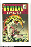 Silver Age (1956-1969):Horror, Unusual Tales #6 (Charlton, 1957) Condition: VF-. Steve Ditkocover. Overstreet 2003 VF 8.0 value = $81. From theCollecti...