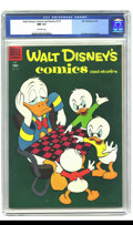 Golden Age (1938-1955):Cartoon Character, Walt Disney's Comics and Stories #175 (Dell, 1955) CGC NM 9.4Off-white pages. Overstreet 2002 NM 9.4 value = $50....
