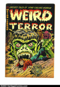 Golden Age (1938-1955):Horror, Weird Terror #3 (Comic Media, 1953) Condition: VG+. Extremeviolence with whipping and torture. Overstreet 2003 VG 4.0 value...