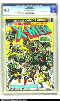 X-Men #96 (Marvel, 1975) CGC NM 9.4 Off-white to white pages. First appearance of Moira MacTaggert. Overstreet 2003 NM 9...