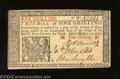 Colonial Notes:New Jersey, March 25, 1776, 1s, New Jersey, NJ-175, Gem CU. This New ...