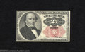 Fractional Currency:Fifth Issue, Fifth Issue 25c, Fr-1308, CU. This long key Walker note would ...
