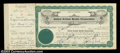 Stocks and Bonds:Certificates with Significant Autographs, Robert Fairbanks - United Artists Studio Corporation (...