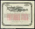 Stocks and Bonds:Certificates with Significant Autographs, Samuel Insull - Louisville and Southern Indiana Traction ...