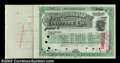 Stocks and Bonds:Certificates with Significant Autographs, Darius Ogden Mills - Mergenthaler Linotype Company (New ...