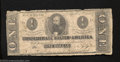 Confederate Notes:1863 Issues, 1863 $1 Clement C. Clay, T-62, Very Good. Federal forces ...
