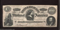 Confederate Notes:1864 Issues, 1864 $100 Counterfeit, CT-65, Cr-492, Choice About ...