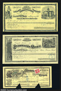 Obsoletes By State:Nevada, 1883 $4.05 State Controllers Warrant State Prison Fund, Carson,... (3 items)