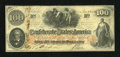 Confederate Notes:1862 Issues, T41 $100 1862 PF-22 Cr-320A.. ...