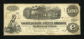 Confederate Notes:1862 Issues, T40 $100 1862 PF-5 Cr-300/9.. ...