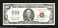 Small Size:Legal Tender Notes, 1966 $100 Legal Tender Note, Fr-1550, Gem CU. This is a very ...