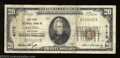 National Bank Notes:Colorado, Salida, CO - $20 1929 Ty. 1 The First NB Ch. # 4172