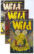 Golden Age (1938-1955):Humor, Wild #1-4 Group (Atlas, 1954) Condition: Average VG+.... (Total: 4)