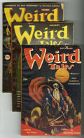 Pulps:Horror, Weird Tales Group (Popular Fiction, 1946-52) Condition: AverageVG.... (Total: 6)