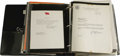 """Autographs:Military Figures, Huge 1960s - 1970s Autograph Collection With an Emphasis on Astronauts. This 3"""" thick binder contains hundreds of autograph..."""