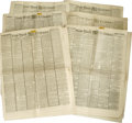 Books:Periodicals, [Abraham Lincoln Assassination] Six 1865 Issues of the New YorkTribune from the days immediately following Lincoln's as...(Total: 6 )