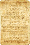 Antiques:Black Americana, Slavery - 1784-86 Ship's Log for Slave Vessels out of Newport,Rhode Island during the Triangle Trade. The document is a 68-...