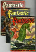 Pulps:Science Fiction, Fantastic Adventures Group (Ziff-Davis, 1951-53) Condition: AverageVG.... (Total: 10)