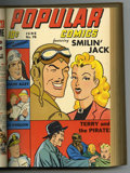 Golden Age (1938-1955):Miscellaneous, Popular Comics #74-85 Bound Volume (Dell, 1942-43)....