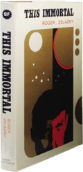 Books:First Editions, Roger Zelazny: The Immortal. (London: Rupert Hart-Davis,1967), first hardcover edition, 187 pages, jacket design by Ken...